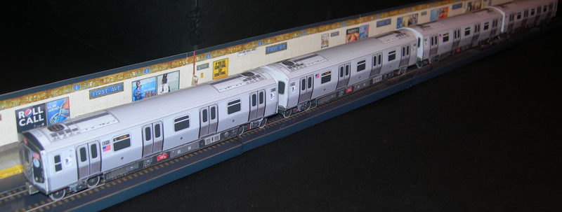 Alstom R160A(4 car set) - Papercrafts.it