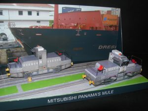 Mitshubishi Panama's Mule Diorama 1 - Papercrafts.it