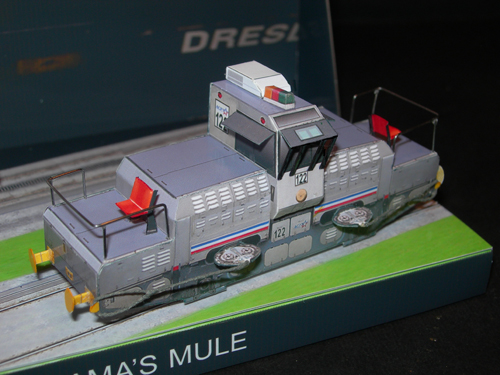 Mitshubishi Panama's Mule Diorama 2 - Papercrafts.it