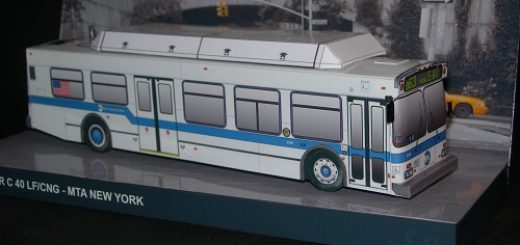 New York City Bus - New Flyer front