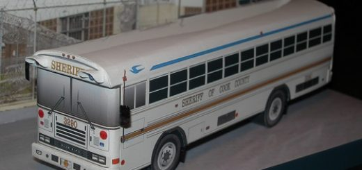 Sheriff's bus - Cook County - Papercrafts.it