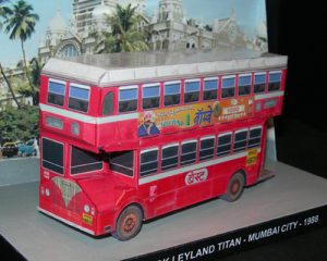Ashok Leyland Titan - Mumbai City - Papercrafts.it