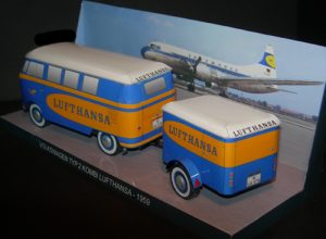 Vw Typ 2 Kombi Lufthansa 1959 - Papercrafts.it