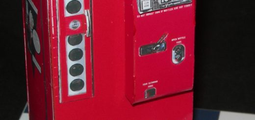 Vendo V81 - Coke Machine - Papercrafts.it