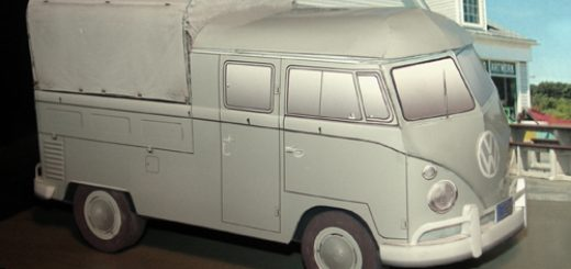 Vw Crew Cab standard - Papercrafts.it