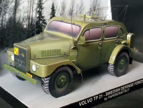 Volvo TP 21 Front