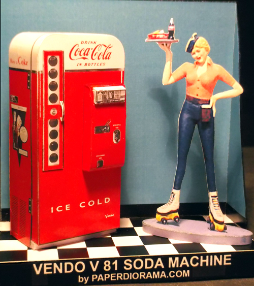 Vendo 81 Coke Machine