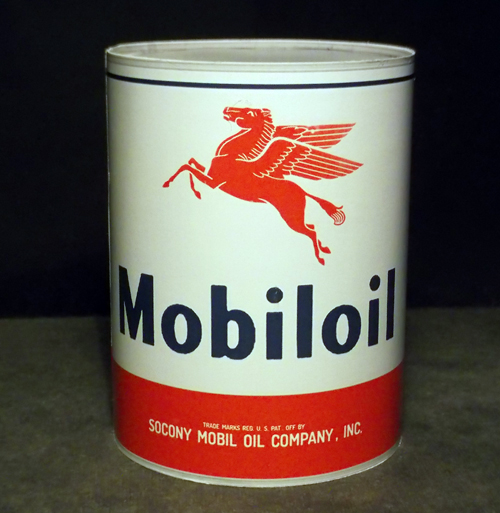 Mobil Oil Vintage Can
