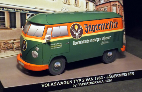 VW Jagermeister Front View