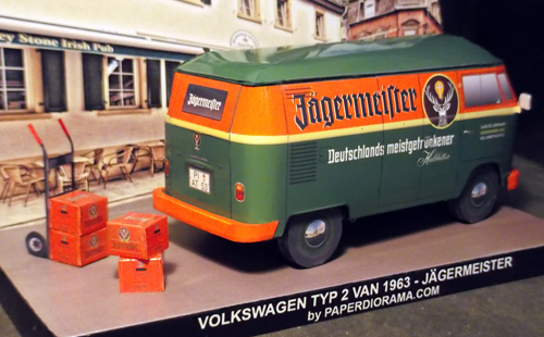 VW Jagermeister Rear View