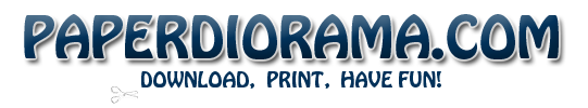 Paperdiorama - Donwload Free Paper Model