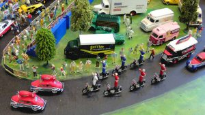 Cinzano bikers parade die cast 1:43 scale from Flickr