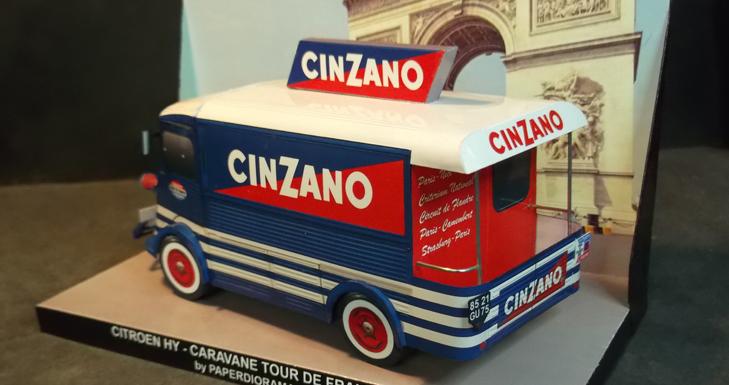 Citroen HY Cinzano - Paperdiorama.com