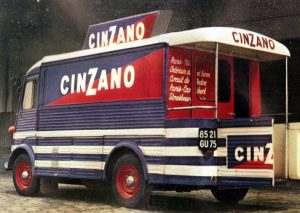 Citroen HY Cinzano Original