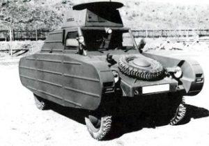 Vw typ 82_3 Panzer attrappe (Dummy tank)