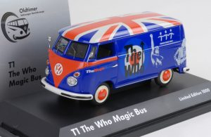 VW Magic Bus - Schuco de cast model 1:43 Scale