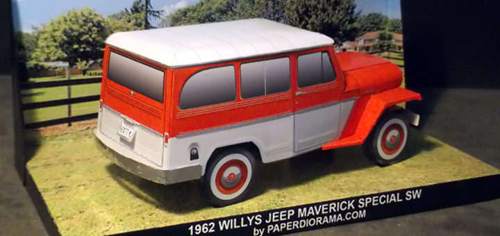 WILLYS OVERLAND JEEP MAVERICK SPECIAL STATION WAGON