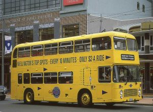 Bristol VRT at Courtenay Place Wellington