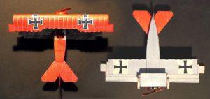 Fokker Dr.1 paper model