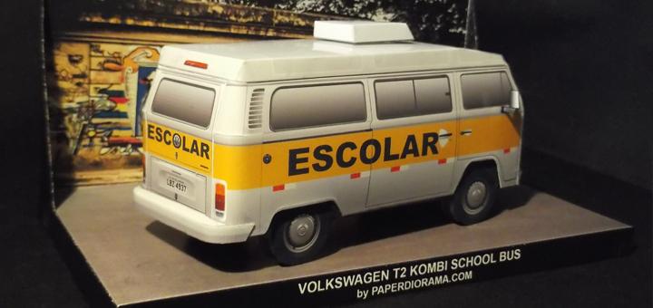Volkswagen T2b Kombi Schoolbus Foto1