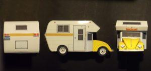 VW Beetle Minihome 1977 paper model (1/35 scale)