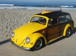The original VW Woody - Front view