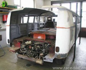 VW Porsche foto3_Race Taxi under construction