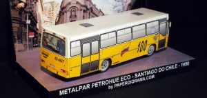 Public transportation system of the city of Santiago, capital of Chile