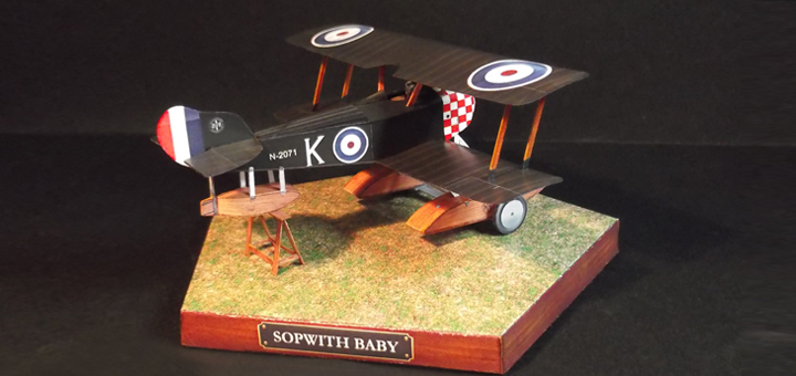 baby_foto1 Sopwith Baby paper model