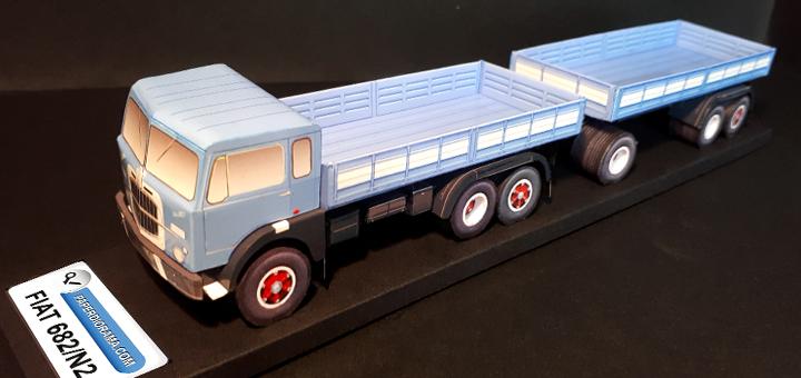 Fiat 682 N2 Fiat 682 N2 paper model